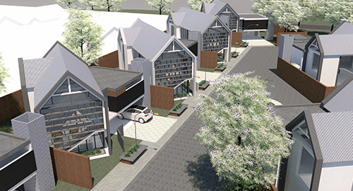 Residential Housing Complex Concept