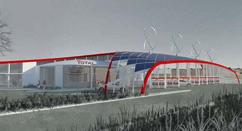 Total Petrol Station Competition
